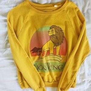OFFICIAL DISNEY MERCH LION KING CREWNECK